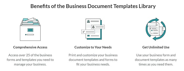 ZenBusiness Business Document Template Library