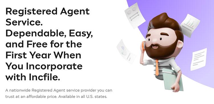Incfile Registered Agent Service