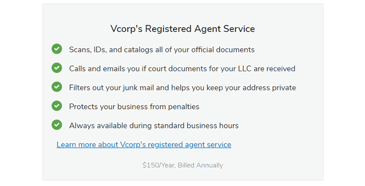 Nolo Registered Agent Service offer