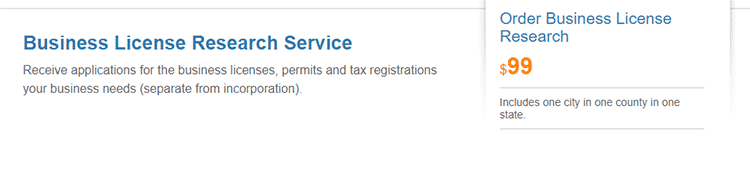 BizFilings Business License Service