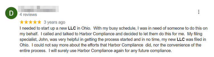 Harbor Compliance User Review 1