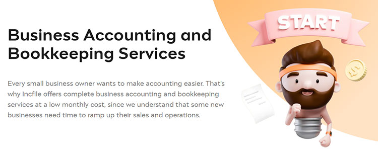 Incfile Business Accounting and Bookkeeping