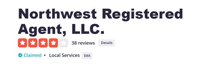 Northwest Registered Agent Yelp Reviews
