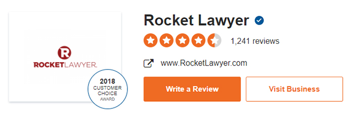 Rocket Lawyer Site Jabber Customer Reviews