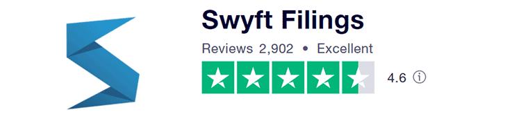 Swyft Filings Trustpilot review score