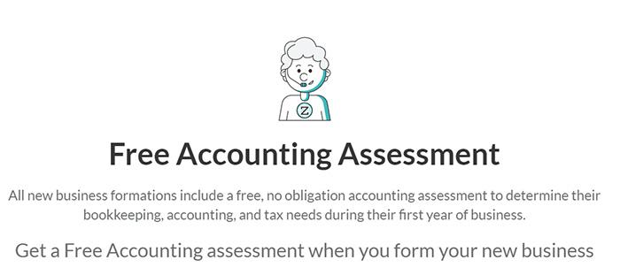 ZenBusiness Free Accountant Assessment