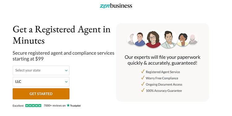 ZenBusiness Registered Agent